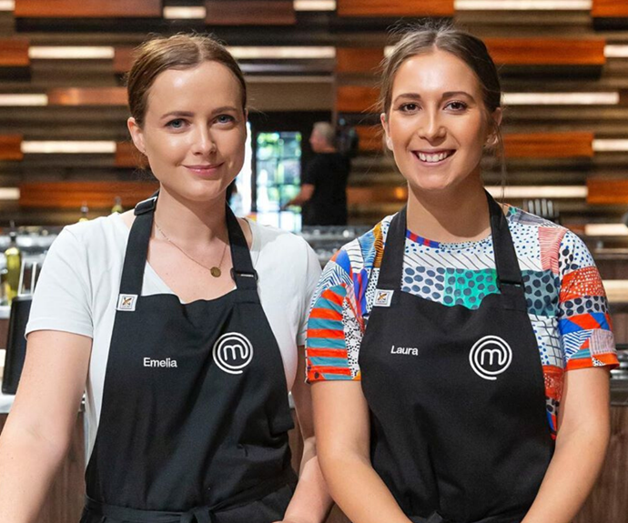 The pair actually competed together on *MasterChef* in 2014.