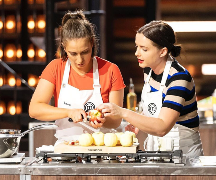Fans melted over this wonderful moment of friendship on Sunday night's episode, when Emelia stopped mid-cook to help out Laura.