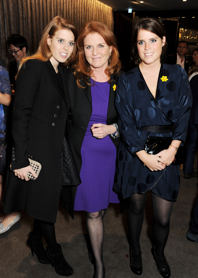 Sarah Ferguson had very different public reactions to her daughters' weddings.