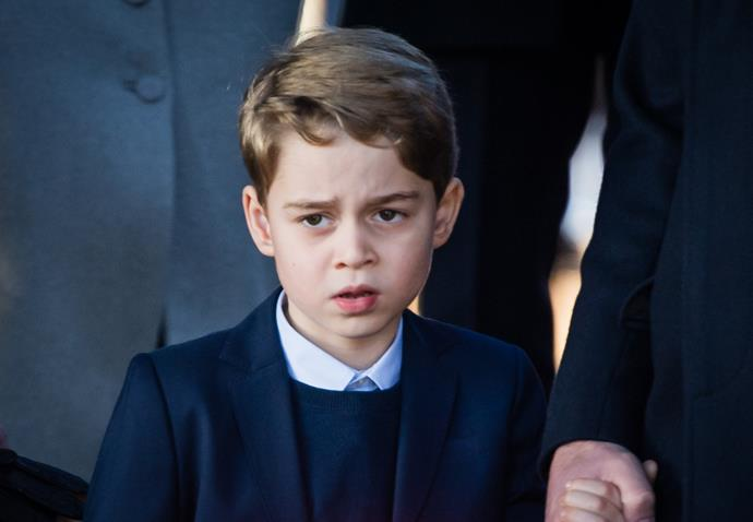 For Christmas 2019, George put his best, albeit least jovial face forward, as he attended the Sandringham church service. We reckon someone wanted to get back to his presents!