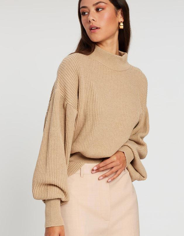 "AERE Organic Cotton Chunky Knit, $119. [Buy it online via THE ICONIC here](https://www.theiconic.com.au/organic-cotton-chunky-knit-1024578.html|target=""_blank""