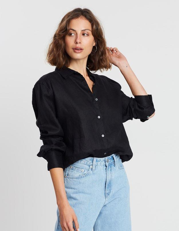 "Assembly Label Xander Long Sleeve Shirt, $90. [Buy it online via THE ICONIC here](https://www.theiconic.com.au/xander-long-sleeve-shirt-736331.html|target=""_blank""
