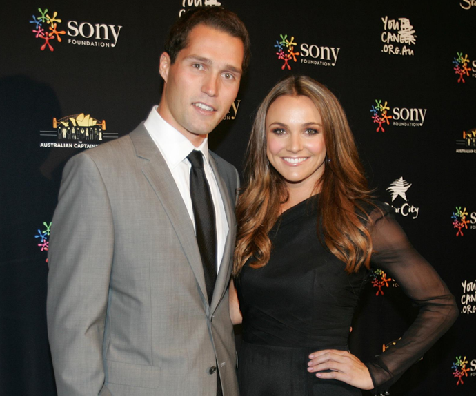Natalie and Jack pictured on the red carpet together in 2010.