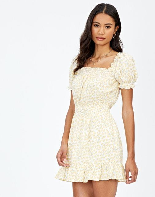 """Glassons puff sleeve mini dress, $19.99. [Buy it online here](https://www.glassons.com/clothing/dresses/short-dresses/puff-sleeve-mini-dress-DS45351LEA?c=LEAFY+DAISY