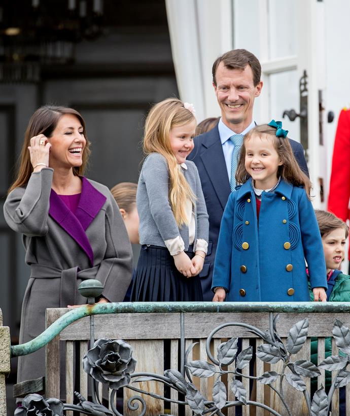 Prince Joachim has four children below the age of 21.