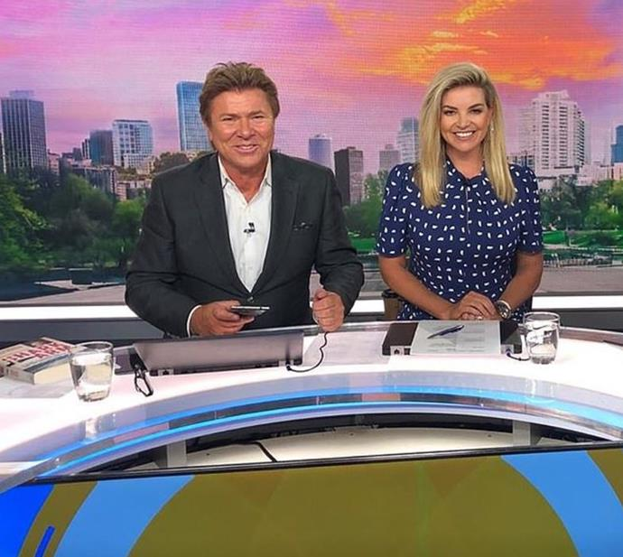 The *Weekend Today* team got a shock earlier this year when host Richard Wilkins tested positive for COVID-19.