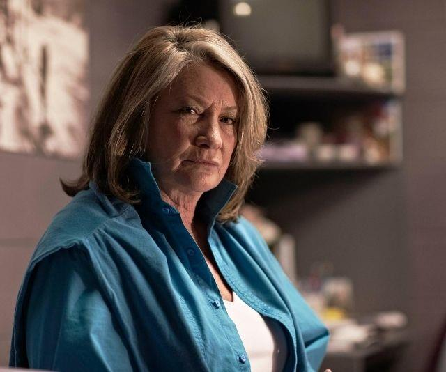 **Jacs' death - S1, E10**<br><br> Bea's full terrifying potential is witnessed when she commits her first murder - killing Jacs by stabbing her in the neck with a pen after forcing her to confess to daughter Debbie's murder.