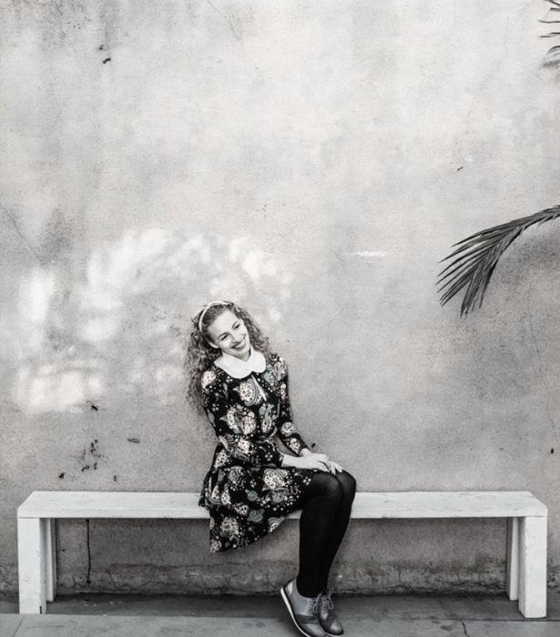 **EMMA WATKINS** <br><br> The yellow wWggle never fails to brighten up our Instagram feeds.<br><br>  Even in a black-and-white photo, Emma's smile is shining light.