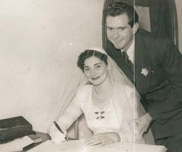 My mum and dad.