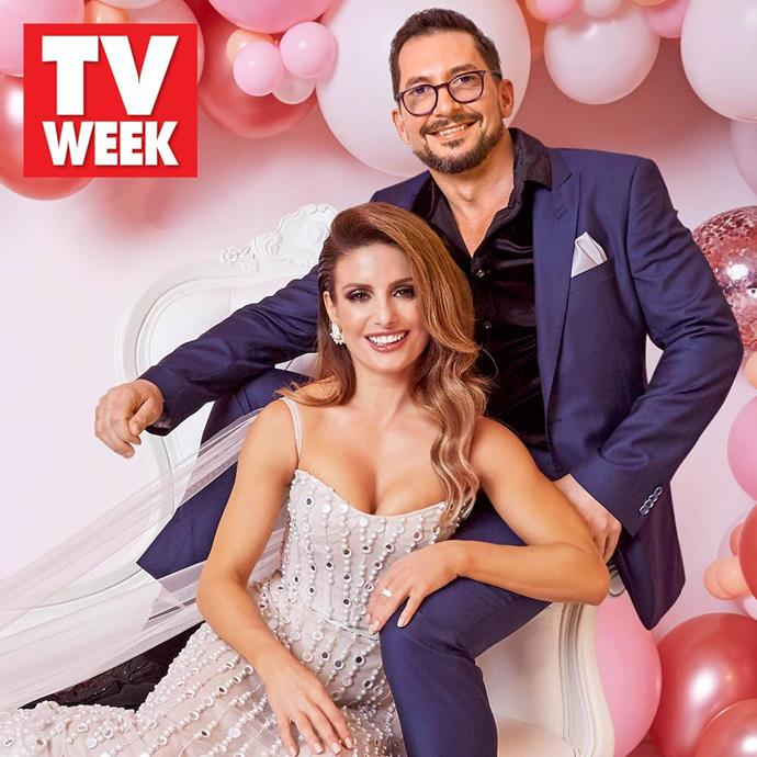 Ada and Adam posed backstage at the TV WEEK Logies after opening up about how they met and starts of their romance.