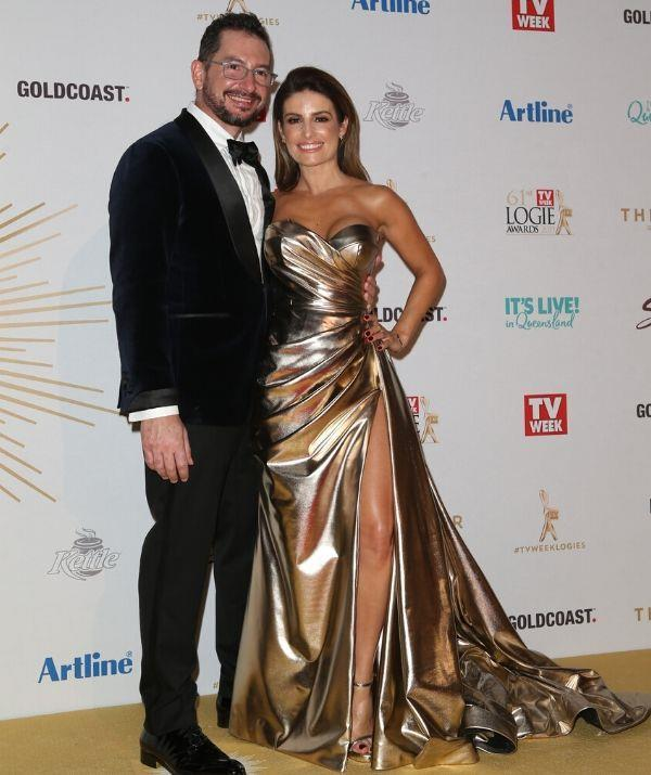 Following up their 2018 debut, Ada brought Adam to the 2019 TV WEEK Logie Awards.