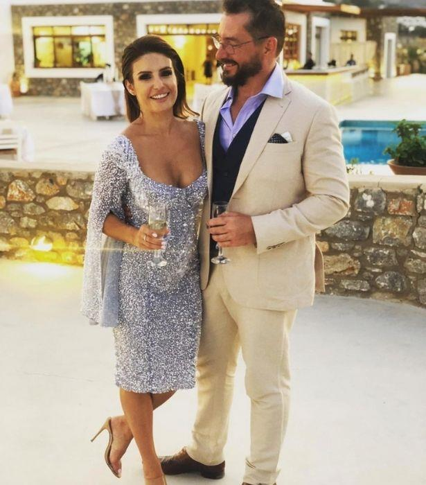 "Do they make a dazzling duo or what?! <br><br> ""At my little brothers wedding in #Rhodes,"" Ada shared."