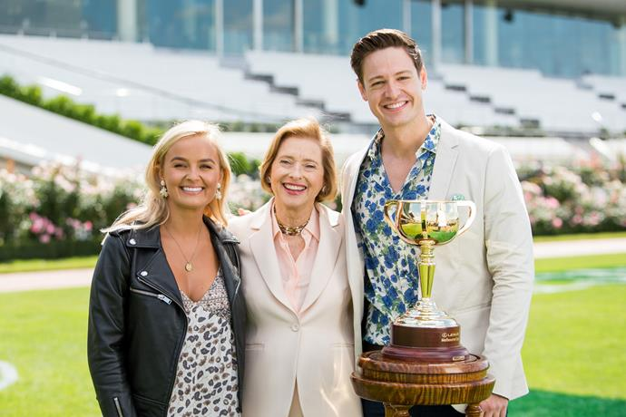 She was also one of the first ladies to get a solo date with the elusive *Bachie*. In episode three, Elly and Matt headed to Flemington Racecourse in Melbourne, where they met Australian icon Gai Waterhouse.