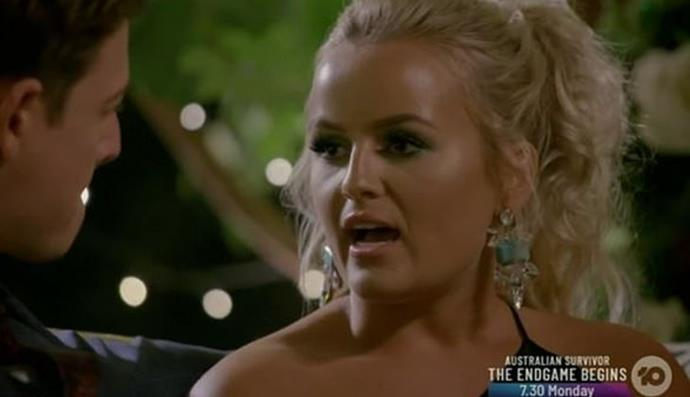 "With [the stakes at an all time high](https://www.nowtolove.com.au/reality-tv/the-bachelor-australia/bachelor-2019-does-elly-win-57920|target=""_blank""), Elly boldly broke up one-on-one time between Abbie and Matt at the cocktail party, taking Matt aside and telling him she didn't believe Abbie was there for the right reasons. Matt then turned the tables on Elly, asking *her* if she was there for the right reasons. ""Yep, I sure am,"" she confidently responded."