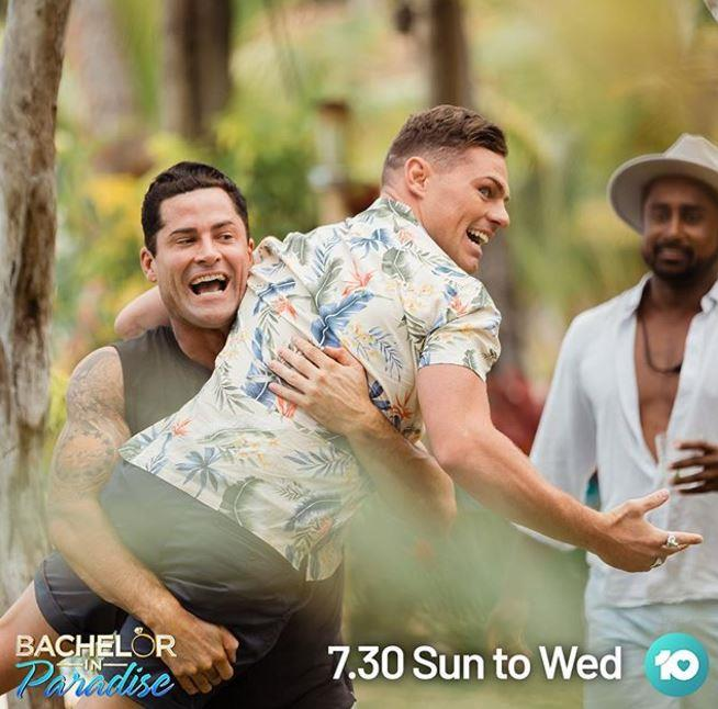 Jamie formed close connections with his fellow contestants on *Paradise* - but not in the romantic sense.