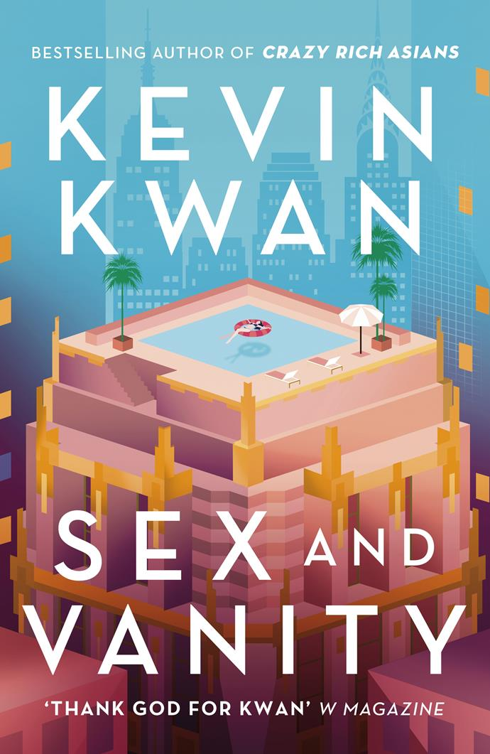 "***Sex and Vanity* by Kevin Kwan** <br>Romantic comedy <br><br> Based – loosely – on E.M. Forster's *A Room with a View*, our protagonist is the over-privileged Lucie Tang Churchill, who as the novel opens is 19 and holidaying on the island of Capri. <br><br>  Lucieis a ""hapa"" – half Chinese, half American  – and on her first morning in Capri meets George Zao, a handsome Chinese-Australian surfer. Even though she claims to abhor him, they have a brief fling.  <br><br>Then when years later the two meet again, it is clear Lucie is again attracted to George, only now she is engaged. A typically Kwan-like plot of deception and redemption follows."