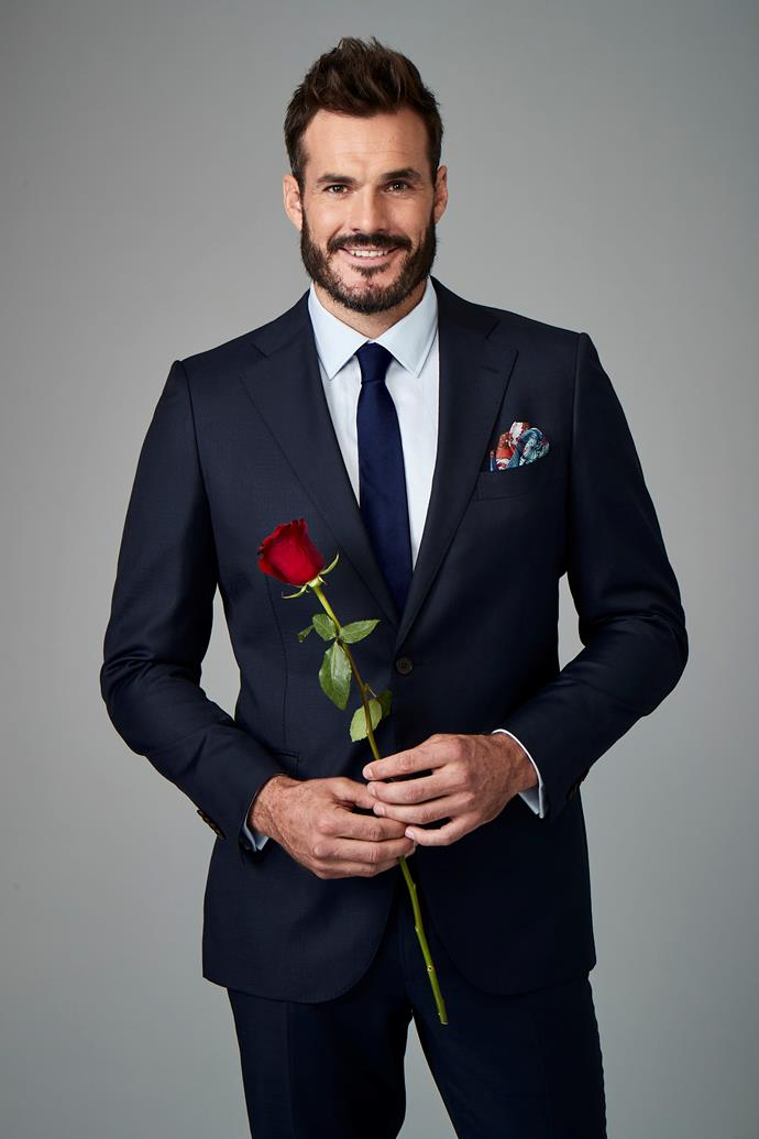 Locky was announced as the new *Bachelor* as his season of *Survivor* aired in Australia.