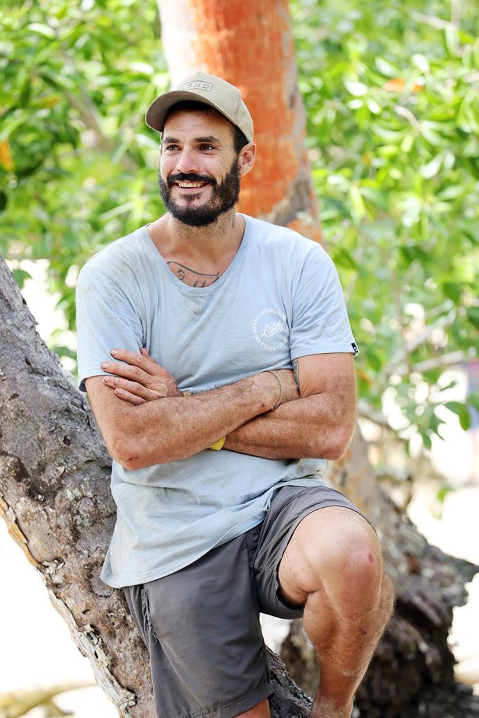 Locky was already known across Australia after his stint on *Survivor*.