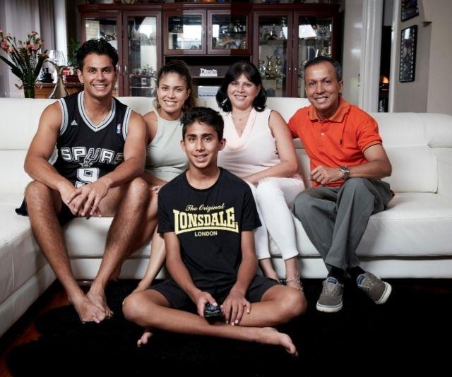 **The Delpechitra Family**<br><br>The cricket-crazy Delpechitra family are all set to jump back on the sofa.
