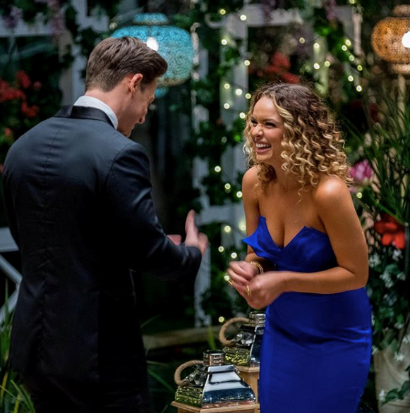Abbie featured on Matt Agnew's season of *The Bachelor*.