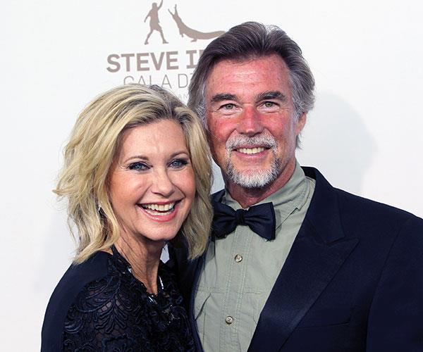 """I found the love of my life at 59,"" Olivia says of John."