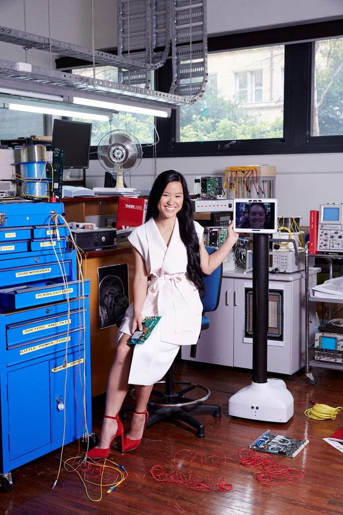 Marita Cheng won the award in 2015, and has since brought a generation of young women into STEM field with her Robogals program.
