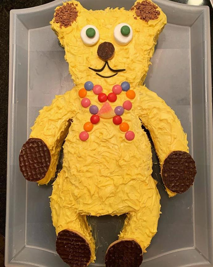 "It doesn't get any cuter than [*The Weekly*'s teddy bear cake](https://www.womensweeklyfood.com.au/recipes/teddy-bear-9436|target=""_blank"") and Instagram user @pnwbabayaga is giving us all kinds of feel-good nostalgia with this guy."