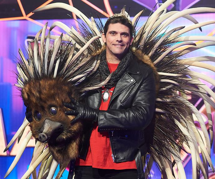 **Echidna:** In the show's very first episode, the prickly mammal was unveiled as retired tennis champ Mark Philippoussis, 43.