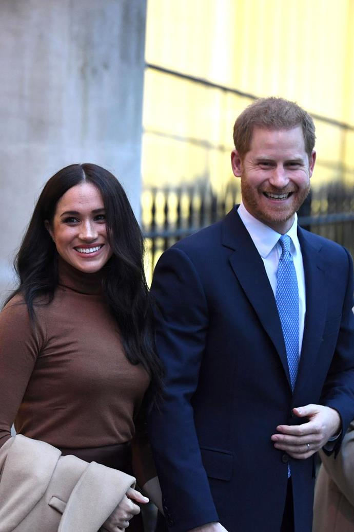 Harry and Meghan own a black lab named Pula.