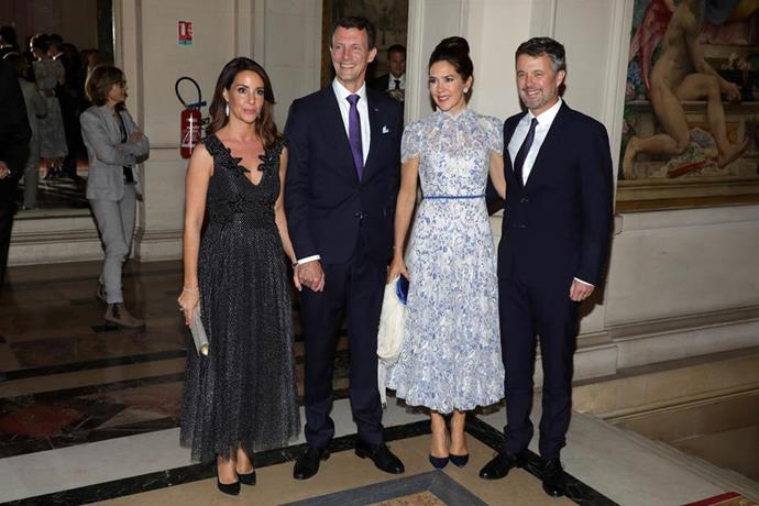 Prince Joachim is the younger brother of Crown Prince Frederik, who is married to Princess Mary.