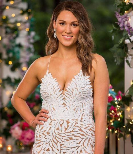 Marlaina didn't get an awful lot of airtime in the premiere episode - but we really wish she had in this gorgeous white dress.