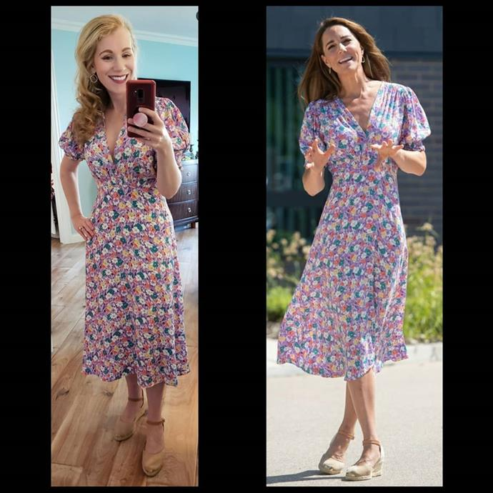 Danielle found this classic (and affordable) Faithfull The label Kate wore recently.