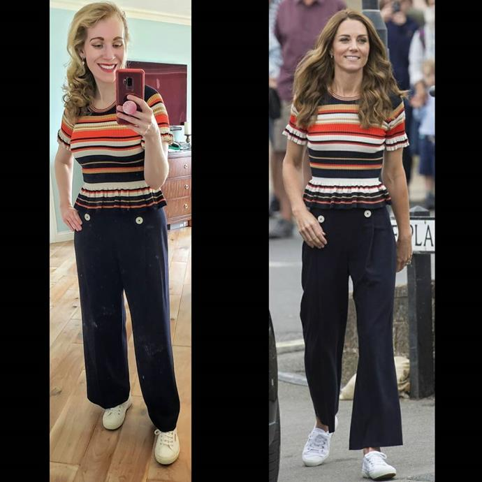 Nailing even Kate's casual looks.