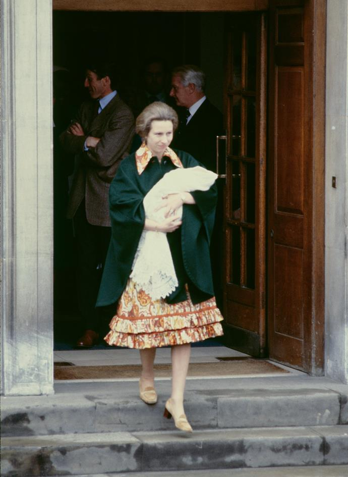 Let's also not forget the glorious outfit she wore for the special occasion in 1981.