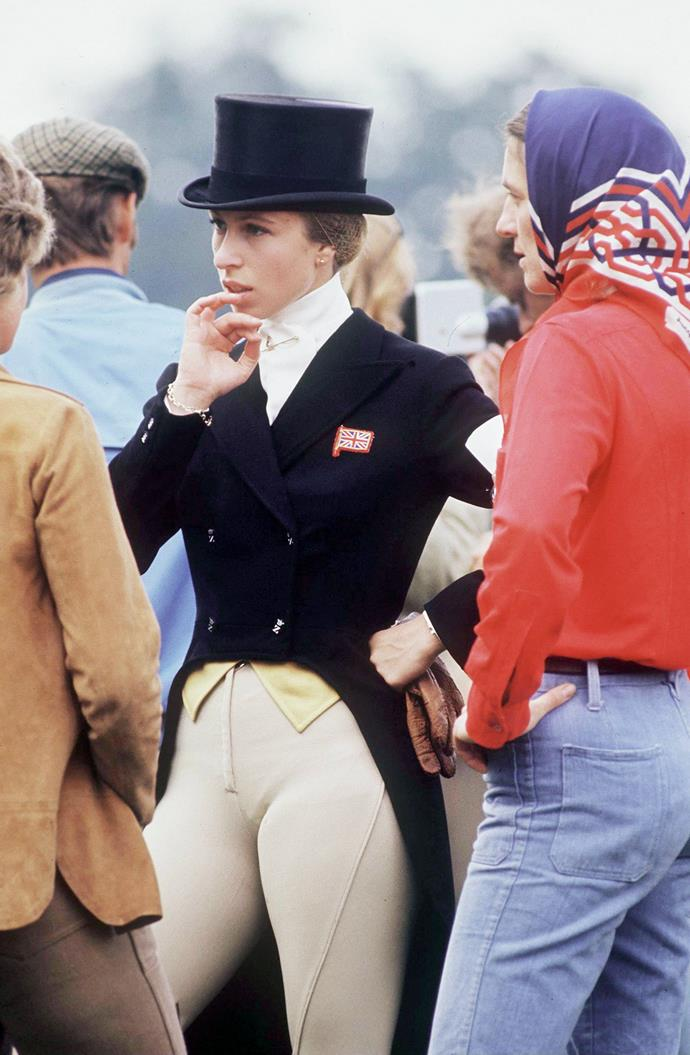 Anne proved from a young age that she was ready to pave her own path in life - no matter her status. She quickly became a well-established equestrian, competing at the 1976 Summer Olympics in Vancouver. Later, we'd see her talent passed down to her daughter...