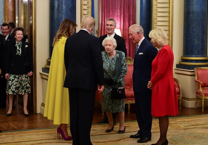 "In 2019, Anne almost broke the internet when her [sassy response to the Queen](https://www.nowtolove.com.au/royals/british-royal-family/princess-anne-donald-trump-61694|target=""_blank"") greeting President Trump went viral in a hilarious clip.  In the video, Princess Anne is seen standing to the side, and when her mother, Queen Elizabeth II gestures to her after shaking hands with Trump, Anne shrugs her shoulders as if to say a resounding ""yeah, nah"" to meeting the Trumps herself. A few days later, it was revealed Anne hadn't *quite* snubbed the US President, but was actually just gesturing to her mother that there was no one left to shake hands with. Whatever it was, it was still a brilliant moment to watch."