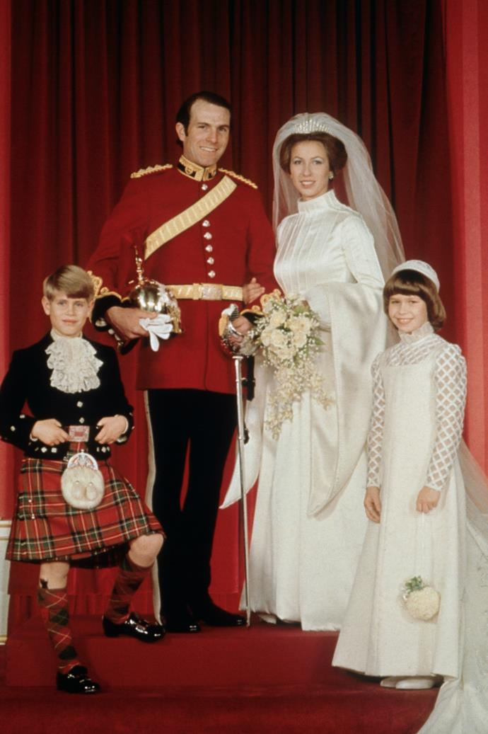 At the time, Anne had been married to husband Captain Mark Phillips for little more than a year.