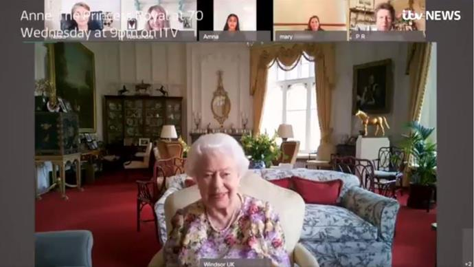 "In 2020, Anne and the Queen shared *another* brilliant moment when the pair partook in a joint Zoom call, the footage of which was shared in an ITV documentary. In the clip, Anne tells her mother, ""Can you see everybody? You should have six people on your screen"".  <br><br> The Queen, who was tuning in from Windsor Castle tells her: ""Yes, well, I can see four anyway."", to which Anne comically replies, ""Ok fair enough. Actually, you don't need me, you know what I look like."""