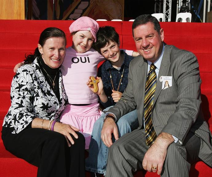 Sophie's fighting spirit has been an inspiration - not just for her proud parents Ron and Carolyn but for the whole nation.