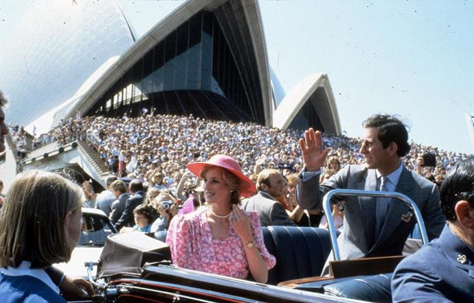 Diana and Charles' 1983 visit to Australia will be included in the new season.