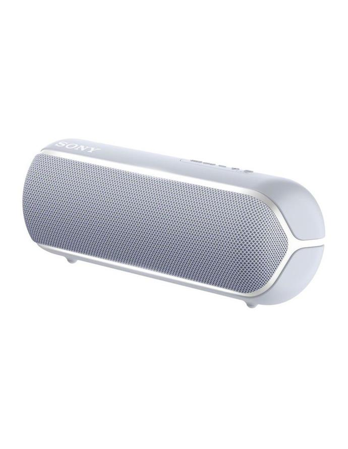 """Myer's Sony range, including this [portable bluetooth speaker](https://www.myer.com.au/p/sony-sony-extra-bass-portable-bluetoth-speaker-grey