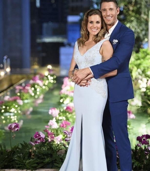 Georgia and Lee found love on The Bachelorette.