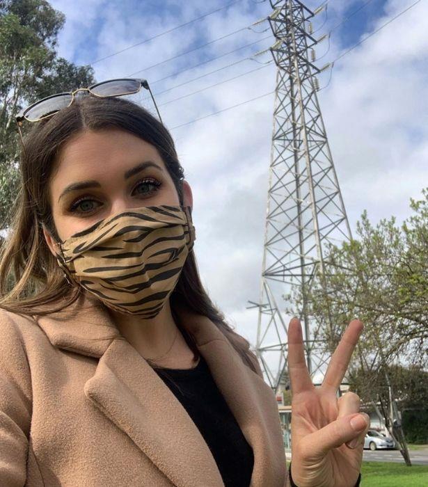 """What travel ban? I ❤️ Paris,"" Georgia wrote on Instagram."