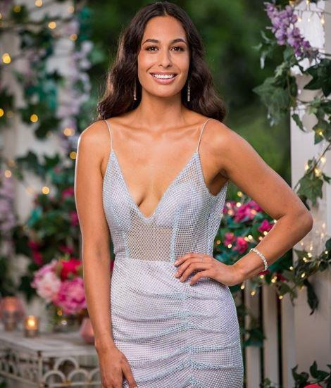 The gorgeous Leilani was also left without a rose in the second ceremony.