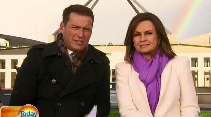 Lisa and Karl were former co-hosts on Nine's *Today*.