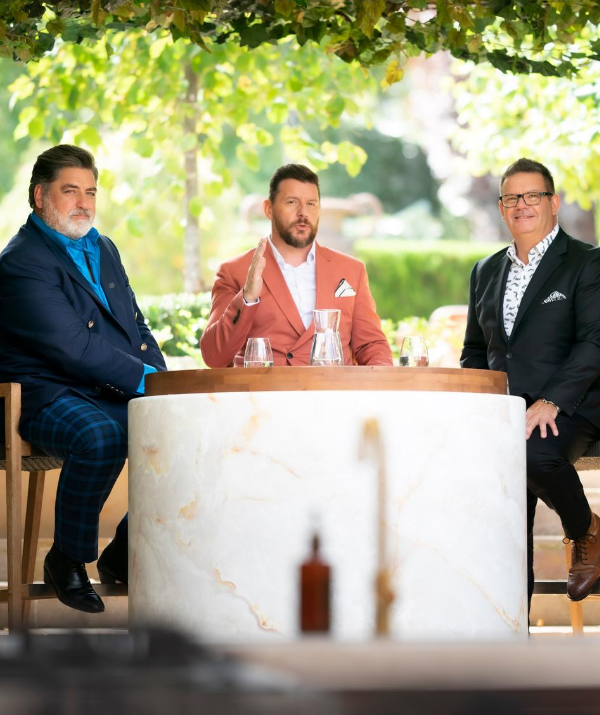 While nervous, three of the biggest names in reality cooking TV believe their new show cuts the mustard!