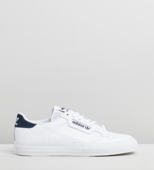 "Adidas Originals Continental Vulc, $120. [Buy them online via The Iconic here](https://www.theiconic.com.au/continental-vulc-unisex-938520.html|target=""_blank""