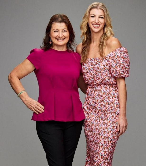 **TEAM ITALY: TERESA & MICHELLE** <br><br> Teresa, 60, raised daughter Michelle, 35, on a farm where they grew and cooked everything from scratch, and the mother-daughter team are one competitive duo! Teresa is also mum to NRL stars Anthony and Mark Minichiello.