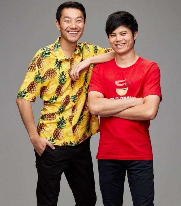 """**TEAM VIETNAM: THANH & DUNCAN** <br><br> Thanh, 32, and Duncan, 29, are friends who are hoping to give Australians the real taste of Vietnam. <br><br> """"There is so much more to Vietnamese cuisine than Pho and spring rolls,"""" says Thanh."""