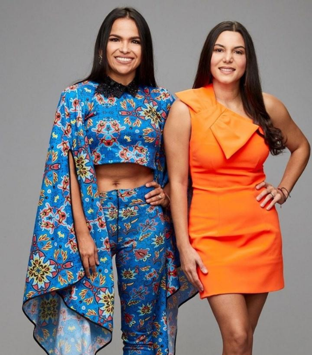 """**TEAM VENUZUELA: KIKI & ALY** <br><br> Friends Kiki, 37, and Aly ,38, caught the cooking bug after moving to Australia and getting homesick when they discovered the lack of Venezulan restaurants. They realised if they wanted to eat the food they loved, they'd have to cook it themselves! <br><br> """"It is time Australians experience a new set of big Latin flavours!"""" Kiki declares."""